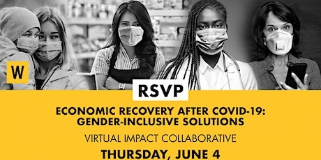 Economic Recovery After COVID-19: Gender-Inclusive Solutions tickets