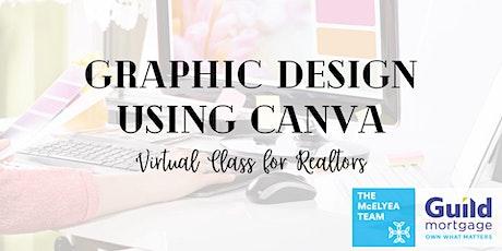 Graphic Design Using Canva June 10th tickets