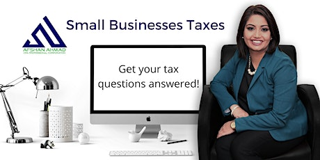 Small Business Taxes - Everything you need to know! tickets