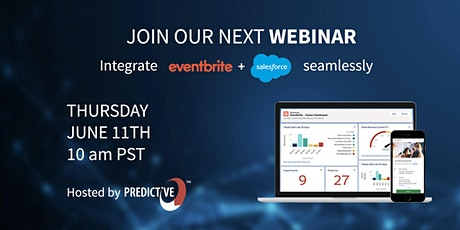 Salesforce + Eventbrite Integration  June 11th Webinar tickets