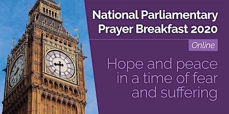 National Parliamentary Prayer Breakfast 2020 Online tickets