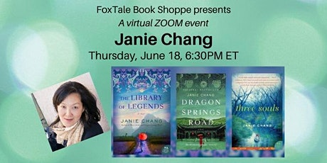 Virtual: Janie Chang, The Library of Legends tickets