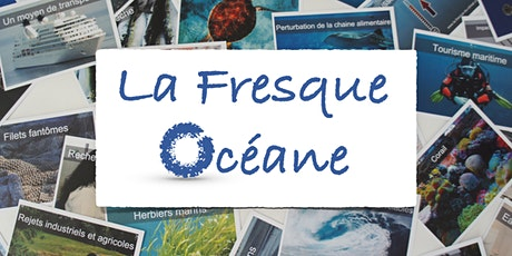 """Atelier Fresque Océane """"en ligne"""" animé par Alix N. (1x3h30) billets"""