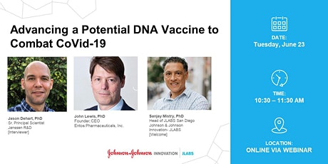 Advancing a Potential DNA Vaccine to Combat CoVid-19 tickets