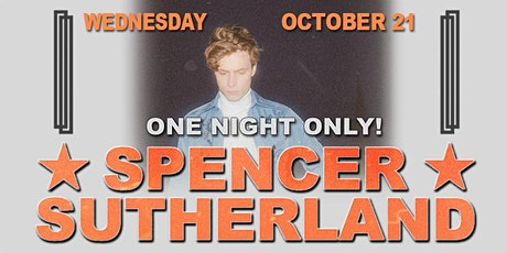 Spencer Sutherland tickets