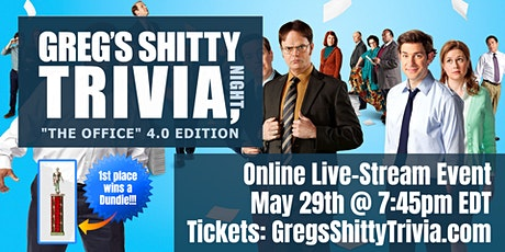 """The Office"" Trivia Night 4.0 (Online Live-Stream Event) tickets"