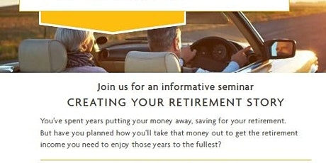 Advanced Retirement Income Planning Seminar tickets