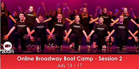 Online Broadway Boot Camp - Session 2 tickets