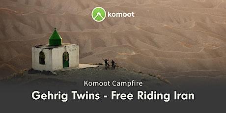 Anita & Caro Gehrig: Free Riding Iran Tickets