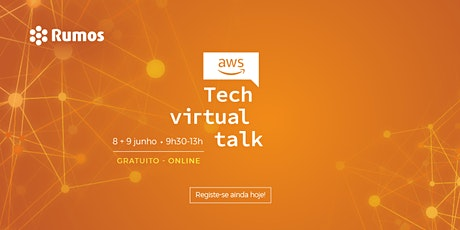 AWS Tech Virtual Talk bilhetes