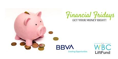Financial Fridays: Business Banking Services / Servicios Bancarios Para Negocios tickets