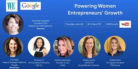 Powering Women Entrepreneurs' Growth tickets