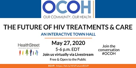 Our Community, Our Health: The Future of HIV Treatments & Care tickets