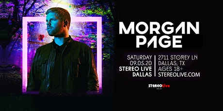 Morgan Page - Stereo Live Dallas tickets