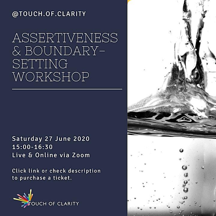 Assertiveness & Boundary-Setting Workshop image