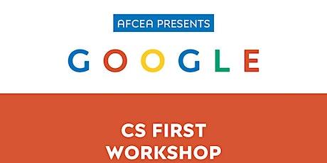 Virtual Google CS First Summer Workshop tickets