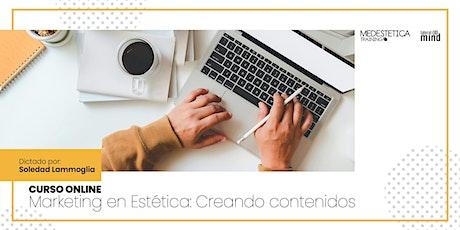 Marketing en Estética: Creando contenidos entradas