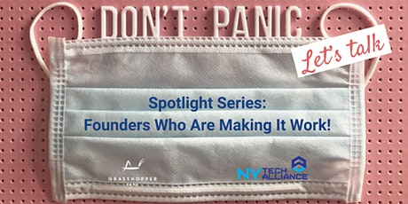 Don't Panic, Let's Talk! - A Virtual Series for Founders tickets