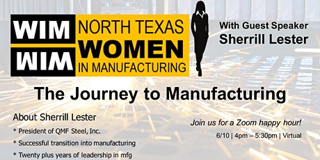 The Journey to Manufacturing tickets