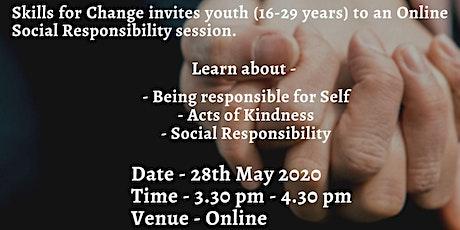 Social Responsibility Webinar tickets