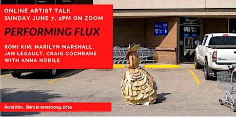 Artist Talk: Performing Flux: tickets