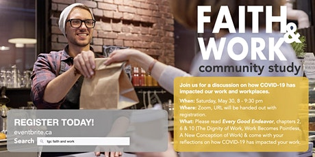 TGC Faith & Work Community Study tickets