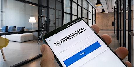 1ère Téléconférence de la Communauté des développeurs billets
