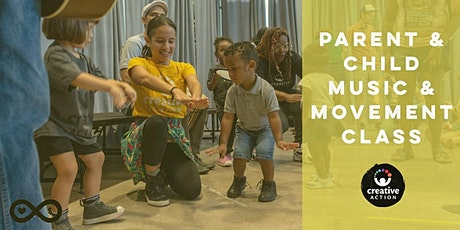 Creative Action VIRTUAL Parent & Child Music & Movement Class tickets