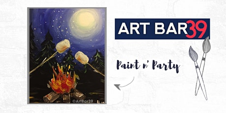 Paint & Sip   ART BAR 39   Public Event   Perfectly Roasted tickets