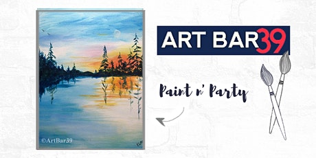 Paint & Sip | ART BAR 39 | Public Event | Land of 10,000 Lakes tickets