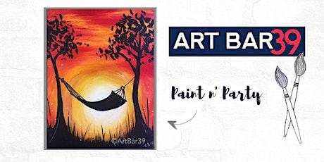 Paint & Sip   ART BAR 39   Public Event   Summer Bliss tickets