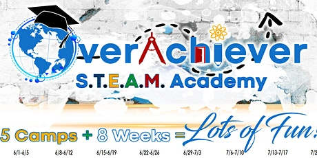 Overachiever S.T.E.A.M. Academy Virtual Summer Camp Week 8 tickets