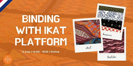 Ikat Platform Launch: Binding cultures in times of crisis tickets