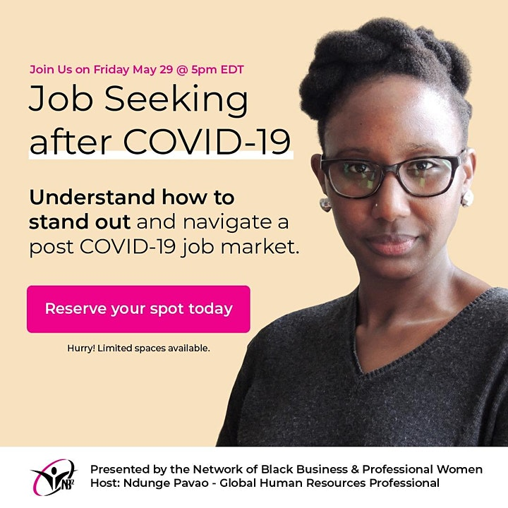 Job seeking after COVID-19 image