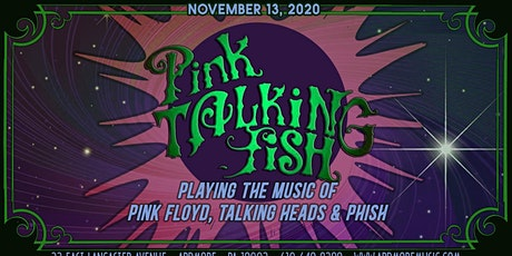 Pink Talking Fish (mashup of Pink Floyd, Talking Heads & Phish) tickets