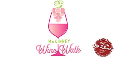 Mckinney Wine Walk tickets