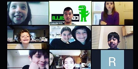August 4-7: Game Makers Virtual Camp - Online Coding For Kids (Level 1/2) tickets