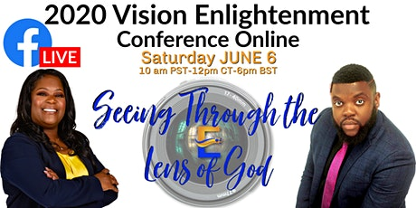"""""""2020 Visions Seeing Through the Lens of God"""" tickets"""