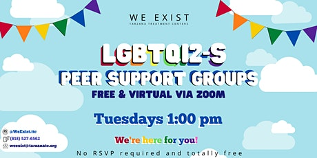 LGBTQI2-S Peer Support Group SFV (ages 16ish-25ish) tickets