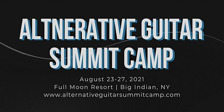 Alternative Guitar Summit Camp tickets