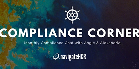 Compliance Corner with Angie & Alexandria tickets