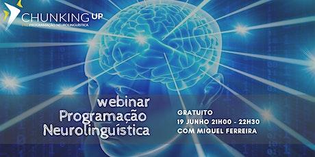 Webinar - Programação Neurolinguistica (PNL) ingressos