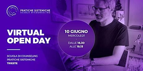 Virtual Open Day: PRESENTAZIONE DELLA SCUOLA DI COUNSELING biglietti