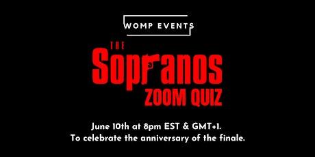 The Sopranos - Zoom Quiz tickets