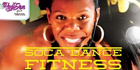 Rhydem Soca Dance Fitness  — ONLINE CLASS -- ZOOM Meeting ID  849 4133 8890 tickets