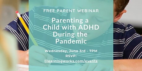 Parenting a Child with ADHD During the Pandemic tickets
