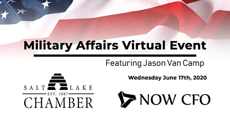Deliberate Discomfort: Military Affairs virtual event feat Jason Van Camp tickets