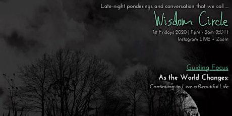 Wisdom Circle 2020 tickets