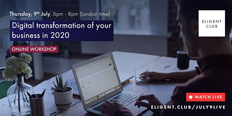 Digital transformation of your business in 2020 tickets
