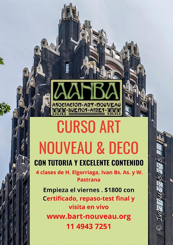 Imagen de Curso AANBA  Art Nouveau y Déco en Europa y América, turismo y patrimonio